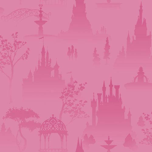 York Wallcoverings Walt Disney Kids Scenic Princess toile: Sample Swatch Only
