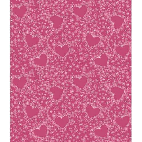 Walt Disney Kids Hearts Wallpaper: Sample Swatch Only