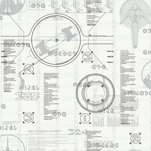 York Wallcoverings Walt Disney Kids Tron: Legacy Wallpaper: Sample Swatch Only