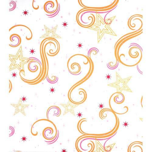 York Wallcoverings Walt Disney Kids Star Glitter Wallpaper: Sample Swatch Only