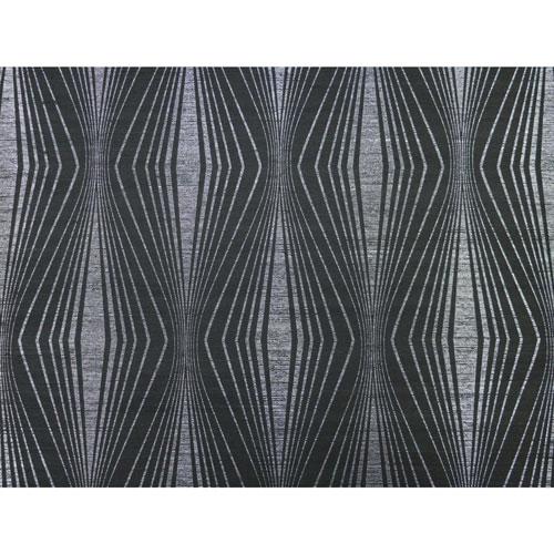 Candice Olson Natural Splendor Radiant Silver and Black Wallpaper