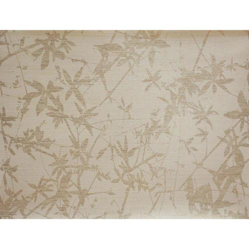 Candice Olson Natural Splendor Sylvan Gold and Cream Wallpaper