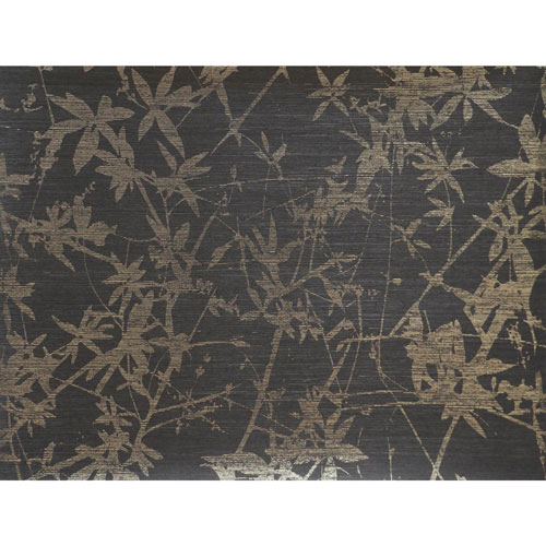 Candice Olson Natural Splendor Sylvan Gold and Black Wallpaper