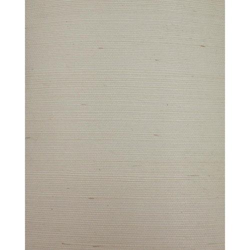York Wallcoverings Candice Olson Natural Splendor Plain Sisals Cream Wallpaper - SAMPLE SWATCH ONLY