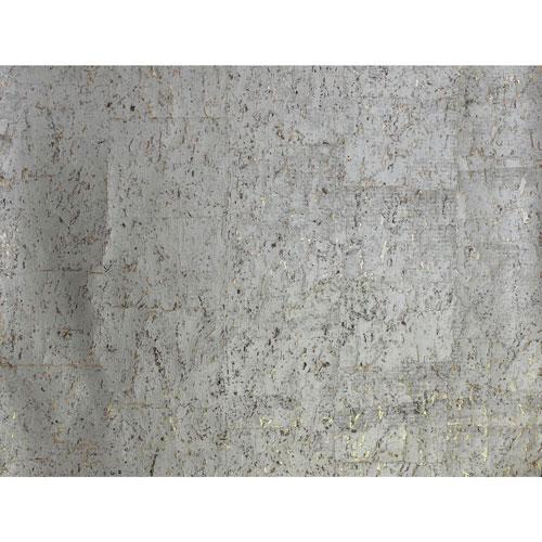 Candice Olson Natural Splendor Cork Warm Silver Wallpaper
