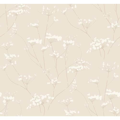 Modern Luxe Cork Tan Enchanted Wallpaper