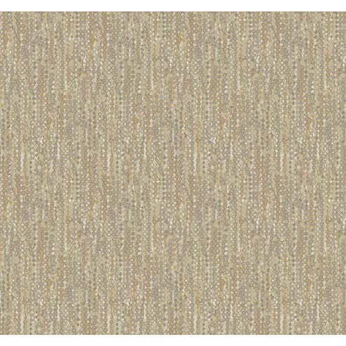 York Wallcoverings Modern Luxe Glazed Hint of Gold Vibe Wallpaper: Sample Swatch Only