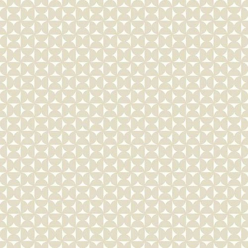 Dwell Studio Baby and Kids Milo Beige and White Wallpaper