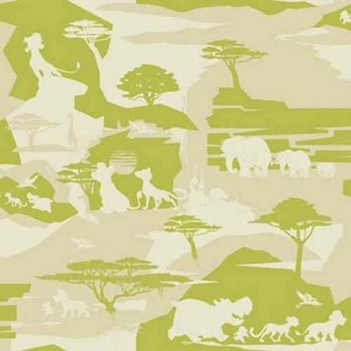Disney Kids III Disney the Lion Guard Safari Wallpaper - Sample Swatch Only