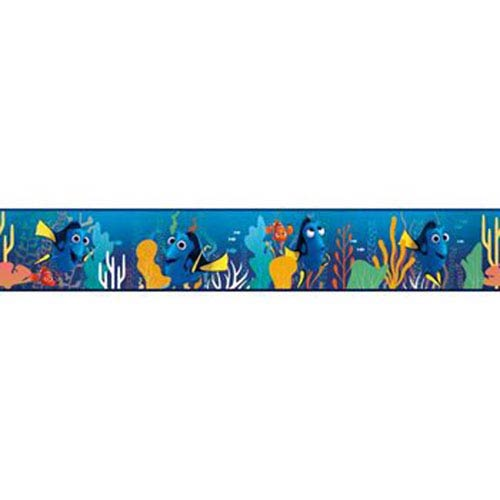 York Wallcoverings Disney Kids III Disney Pixar Finding Dory Border