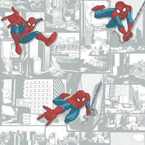 York Wallcoverings Disney Kids III Marvel Ultimate Spiderman Comic Wallpaper