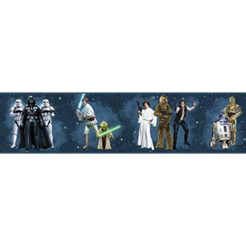 York Wallcoverings Disney Kids III Star Wars Classic Characters Border