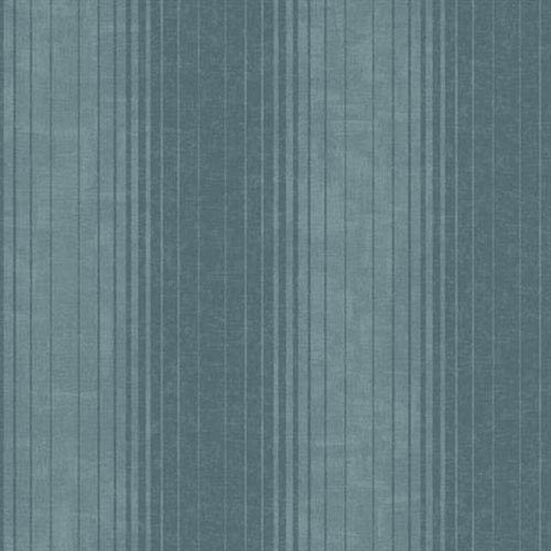 York Wallcoverings Carey Lind Vibe Ombre Stripe Dusty Teal and Deep Teal Wallpaper