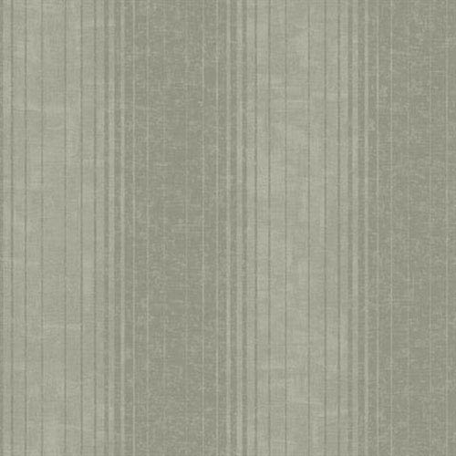 Carey Lind Vibe Ombre Stripe Brushed Pewter and Medium Taupe Wallpaper