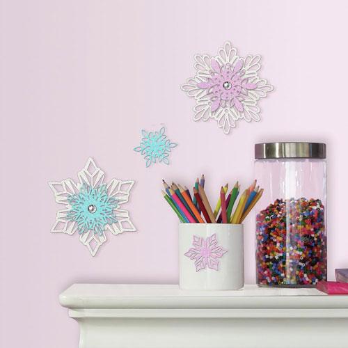 Disney Frozen Snowflakes Embellishments