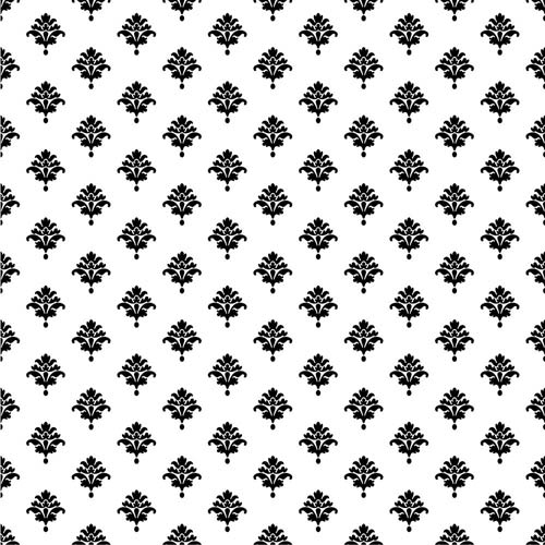 York Wallcoverings Waverly Cottage White and Black Bling It on Wallpaper: Sample Swatch Only
