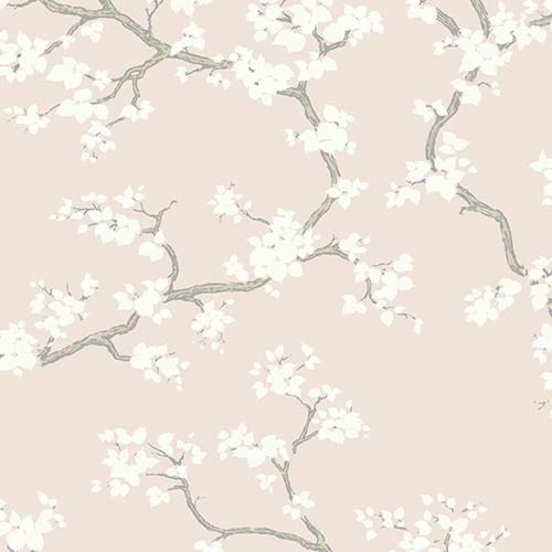 Florence Broadhurst Blush Branches Wallpaper