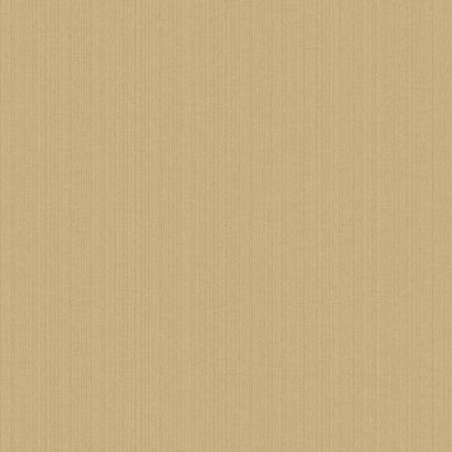 York Wallcoverings Riverside Park Wheat and Cocoa Wallpaper: Sample Swatch Only