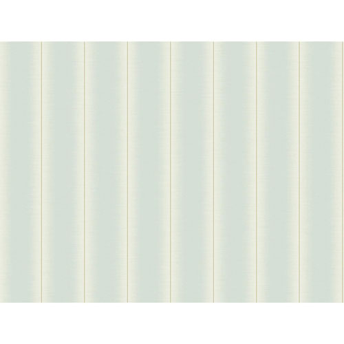 York Wallcoverings Filigree Luminous Stripe Blue Wallpaper - SAMPLE SWATCH ONLY