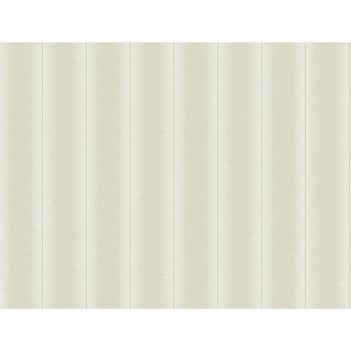York Wallcoverings Filigree Luminous Stripe White Wallpaper
