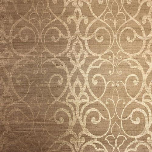 Filigree  Trellis Beige Wallpaper