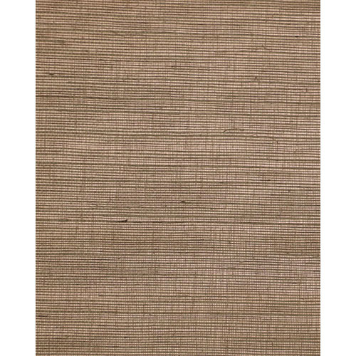 Filigree Elegance Weave Brown Wallpaper