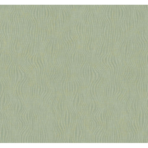 York Wallcoverings Artistry Mint and Sage Wavy Texture Wallpaper: Sample Swatch Only