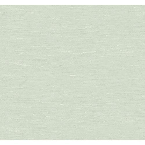 York Wallcoverings Artistry Aqua Blue Silk Nub Texture Wallpaper: Sample Swatch Only