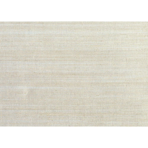 Candice Olson Natural Splendor Plain Sisals Taupe and Silver Wallpaper - SAMPLE SWATCH ONLY
