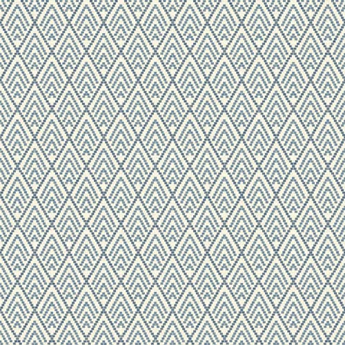 Ashford Geometrics Blue and Grey Chalet Wallpaper