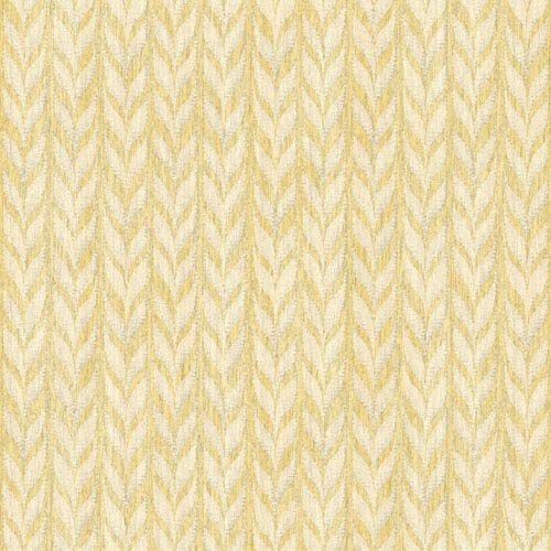 Ashford Geometrics Yellow and Cream Graphic Knit Wallpaper