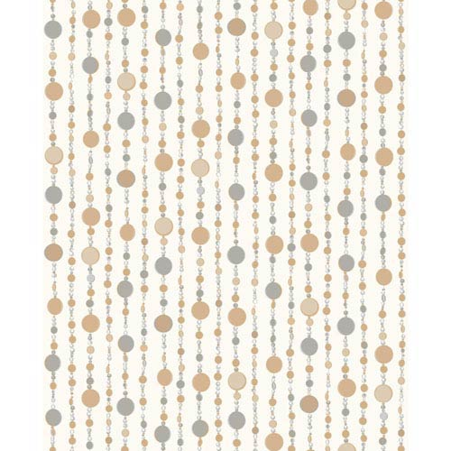 York Wallcoverings Growing Up Kids Beaded Curtain Removable Wallpaper