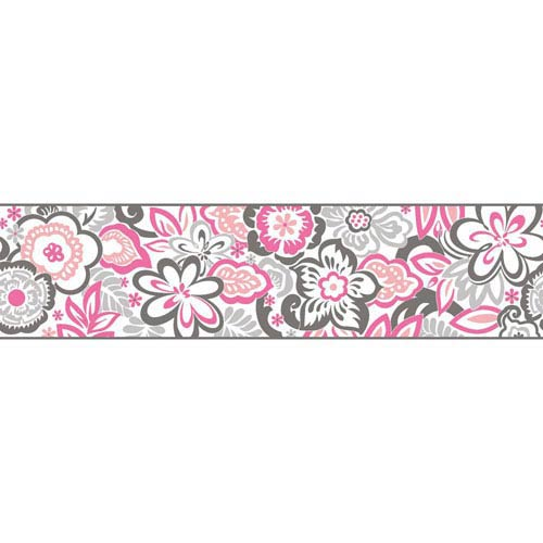 Growing Up Kids Islamorada Removable Wallpaper Border- Sample Swatch Only