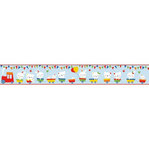 Growing Up Kids Big Top Removable Wallpaper Border- Sample Swatch Only