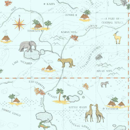 Growing Up Kids Timbuktu Removable Wallpaper