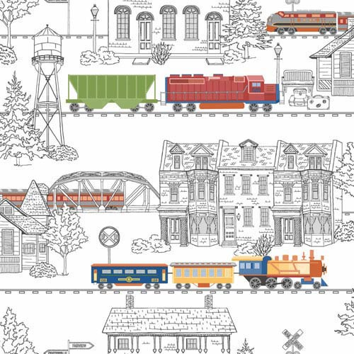 York Wallcoverings Growing Up Kids Tunnel Vision Removable Wallpaper