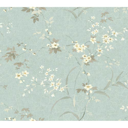 York Wallcoverings Brandywine Garden Petals Wallpaper: Sample Swatch Only