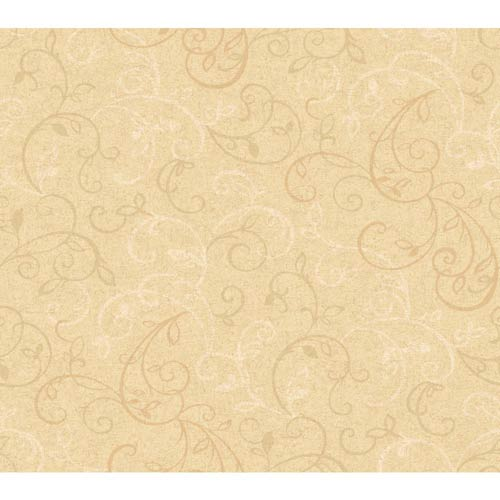 York Wallcoverings Inspired by Color Sand, Deep Beige Wallpaper: Sample Swatch Only