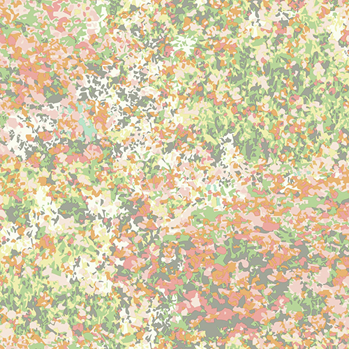 Waverly Garden Party Sherbet Wallpaper - SAMPLE SWATCH ONLY
