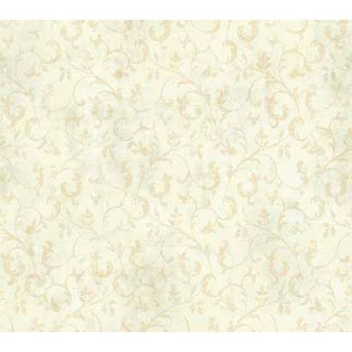 York Wallcoverings Keepsake Trailing Leaf Wallpaper: Sample Swatch Only