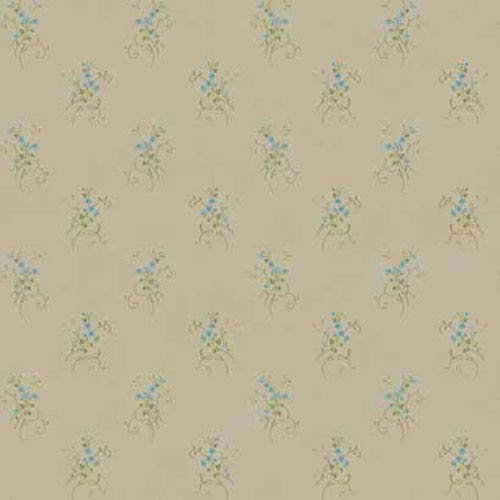 York Wallcoverings Keepsake Floral Vine Wallpaper: Sample Swatch Only