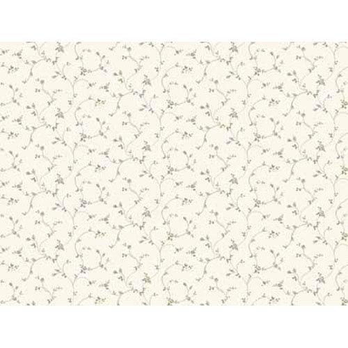 York Wallcoverings Keepsake Rose Toss Wallpaper: Sample Swatch Only