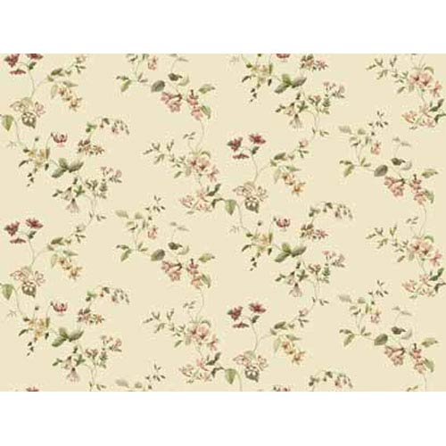York Wallcoverings Keepsake Wild Flower Trail Wallpaper