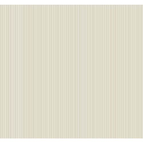 York Wallcoverings Williamsburg III Somerset Strié Beige Removable Wallpaper-SAMPLE SWATCH ONLY
