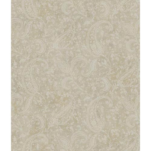 York Wallcoverings Passport Slate Gray, Brown and Tan Wallpaper: Sample Swatch Only