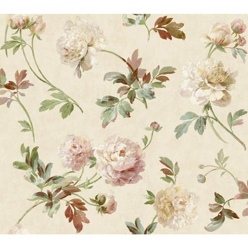 York Wallcoverings Passport Multi-Colored Wallpaper: Sample Swatch Only
