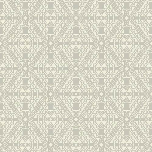 Pattern Play Totem Wallpaper: Sample Swatch Only