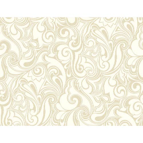 York Wallcoverings Pattern Play Jubilee Wallpaper: Sample Swatch Only