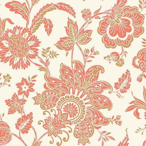 York Wallcoverings Pattern Play Arabella Wallpaper