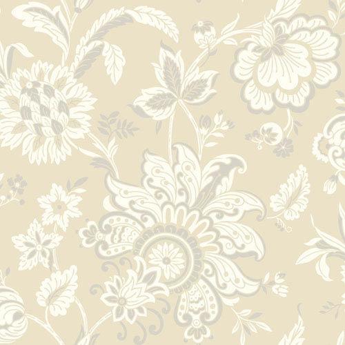 York Wallcoverings Pattern Play Arabella Wallpaper: Sample Swatch Only